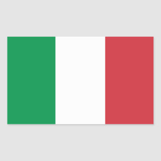 FOUR Italy National Flag Sticker