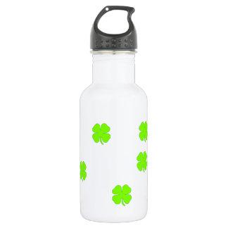 Four leaf clover 532 ml water bottle