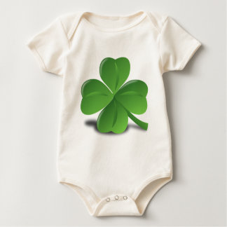 FOUR LEAF CLOVER BABY BODYSUIT