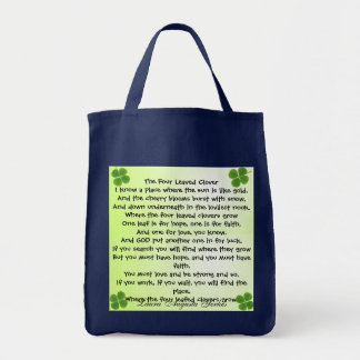 four leaf clover bag