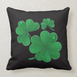 Four Leaf Clover Decorative Pillow