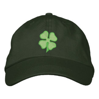 Four- Leaf Clover Embroidered Hat