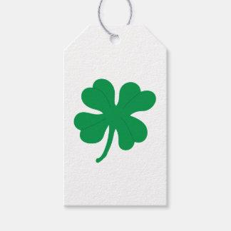 Four Leaf Clover Gift Tag
