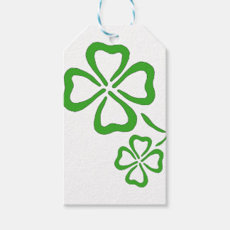 Four-Leaf-Clover Gift Tags