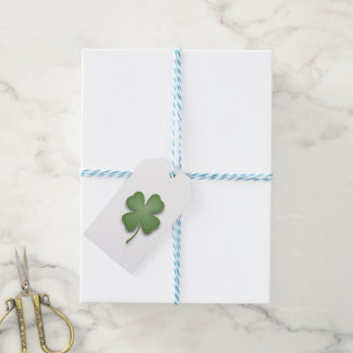 Four Leaf Clover Gift Tags