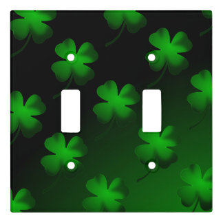 Four Leaf Clover Gradient Light Switch Cover