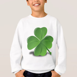 FOUR LEAF CLOVER HAT SWEATSHIRT
