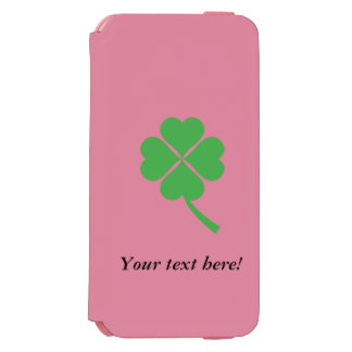 Four-leaf clover incipio watson™ iPhone 6 wallet case