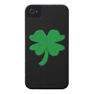 Four Leaf Clover iPhone 4 Case-Mate Cases