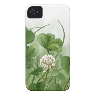 Four Leaf Clover iPhone 4 Covers