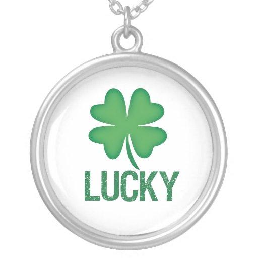 Four Leaf Clover Lucky Necklace