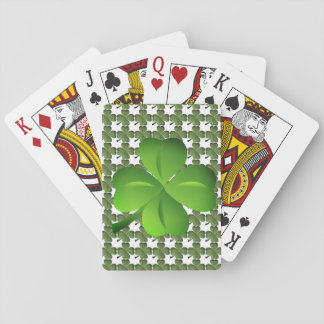 Four Leaf Clover Lucky Playing Cards