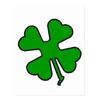 Four Leaf Clover (Lucky) Postcard