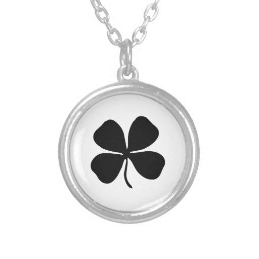 Four-Leaf Clover Necklaces