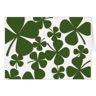 Four Leaf Clover Note Cards