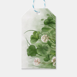 Four Leaf Clover Pack Of Gift Tags