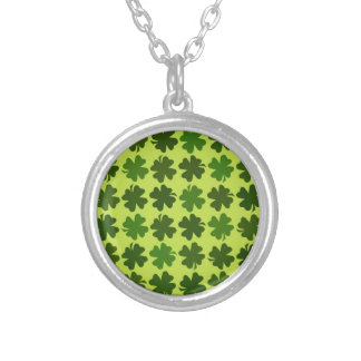 Four Leaf Clover Pattern Custom Jewelry