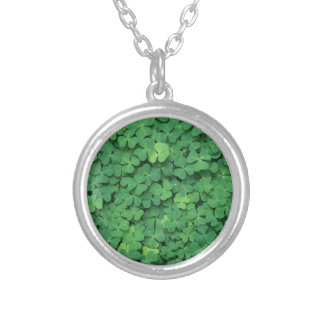 Four Leaf Clover Personalized Necklace