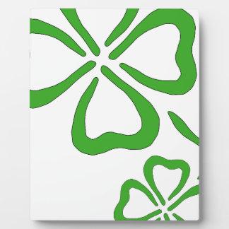 Four-Leaf-Clover Plaque