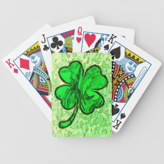 FOUR LEAF CLOVER Playing Cards