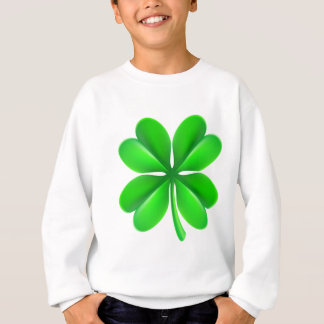Four Leaf Clover Shamrock Sweatshirt