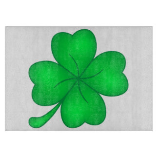 Four-leaf clover sheet cutting board