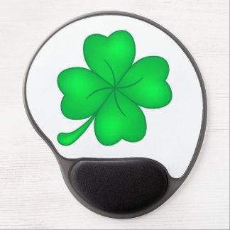 Four-leaf clover sheet gel mouse pad