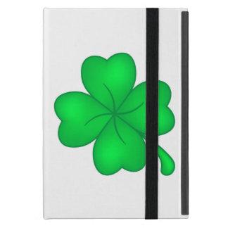 Four-leaf clover sheet iPad mini case