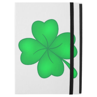"Four-leaf clover sheet iPad pro 12.9"" case"