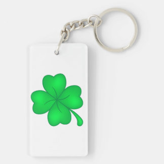 Four-leaf clover sheet keychain