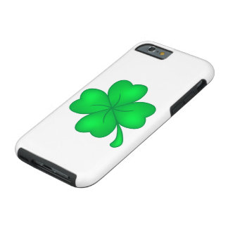 Four-leaf clover sheet tough iPhone 6 case