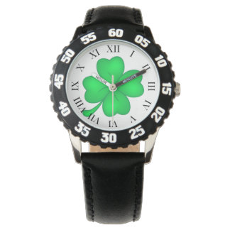 Four-leaf clover sheet watch