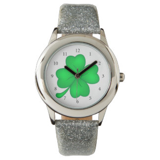 Four-leaf clover sheet watch