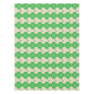 Four-leaf clover tablecloth