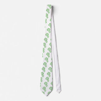 Four-Leaf-Clover Tie