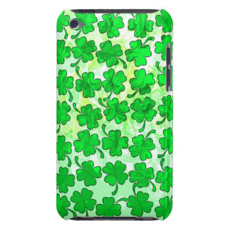 FOUR LEAF CLOVERS iPod Touch Case-Mate Case