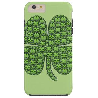 Four Leaf Clovers Tough iPhone 6 Plus Case