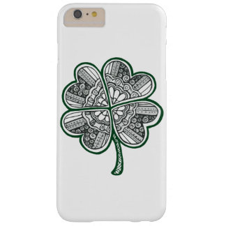 Four Leave Clover 1 Barely There iPhone 6 Plus Case