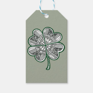 Four Leave Clover 1 Gift Tags