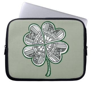 Four Leave Clover 1 Laptop Sleeve