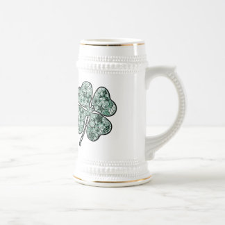 Four Leave Clover 2 Beer Stein
