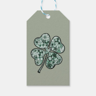 Four Leave Clover 2 Gift Tags