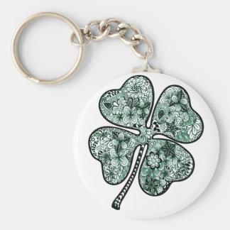 Four Leave Clover 2 Keychain