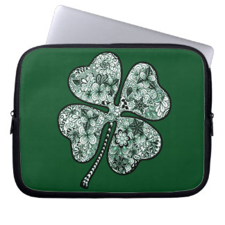 Four Leave Clover 2 Laptop Sleeve