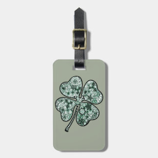 Four Leave Clover 2 Luggage Tag