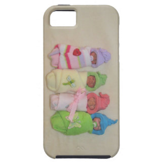 Four Little Babies: Polymer Clay Sculptures iPhone 5 Cover