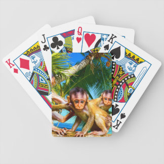 Four Little Monkeys Bicycle Playing Cards