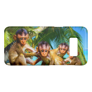 Four Little Monkeys Case-Mate Samsung Galaxy S8 Case