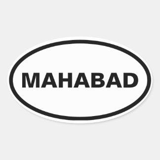 FOUR Mahabad Oval Sticker