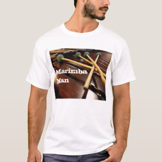 Four Mallet Marimba Man T-Shirt